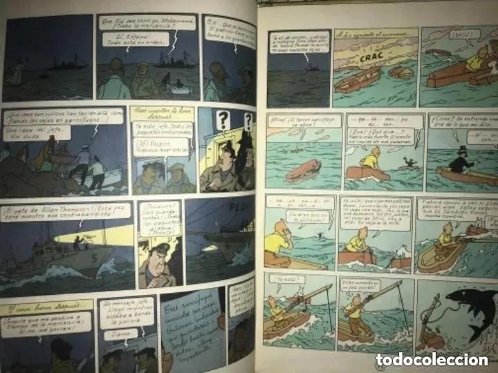 Cómics: LOTE ANTIGUOS CÓMIC TEBEO TINTÍN PRIMERAS SEGUNDAS EDICIONES JUVENTUD - Foto 6 - 182624545