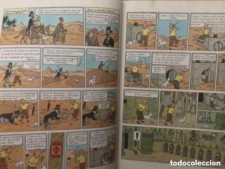 Cómics: LOTE ANTIGUOS CÓMIC TEBEO TINTÍN PRIMERAS SEGUNDAS EDICIONES JUVENTUD - Foto 7 - 182624545