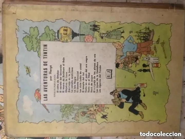 Cómics: LOTE ANTIGUOS CÓMIC TEBEO TINTÍN PRIMERAS SEGUNDAS EDICIONES JUVENTUD - Foto 10 - 182624545