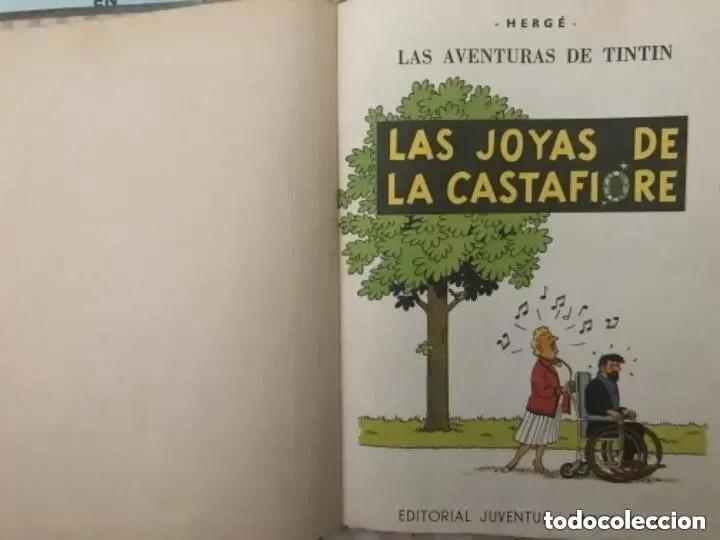 Cómics: LOTE ANTIGUOS CÓMIC TEBEO TINTÍN PRIMERAS SEGUNDAS EDICIONES JUVENTUD - Foto 13 - 182624545