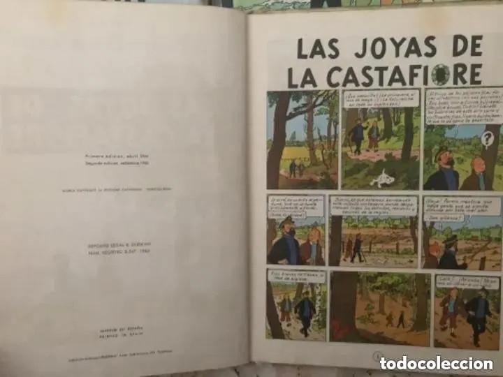 Cómics: LOTE ANTIGUOS CÓMIC TEBEO TINTÍN PRIMERAS SEGUNDAS EDICIONES JUVENTUD - Foto 14 - 182624545