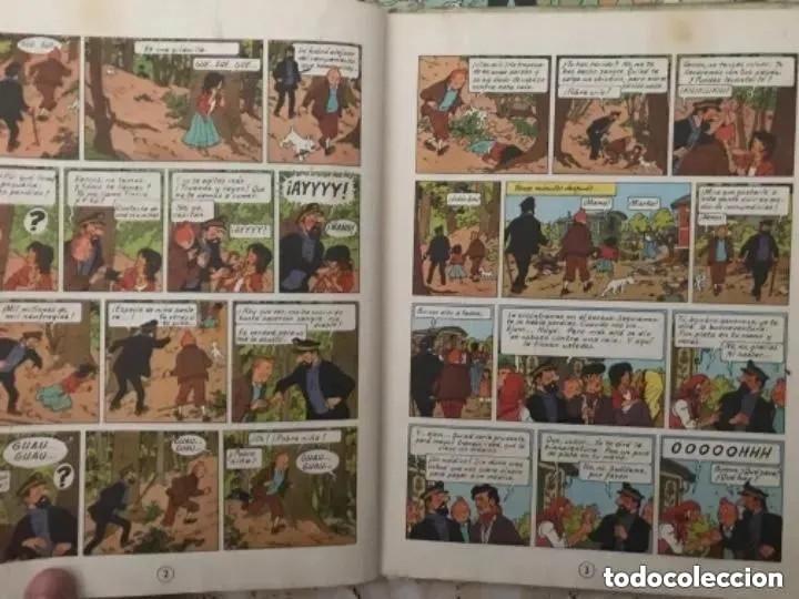 Cómics: LOTE ANTIGUOS CÓMIC TEBEO TINTÍN PRIMERAS SEGUNDAS EDICIONES JUVENTUD - Foto 15 - 182624545
