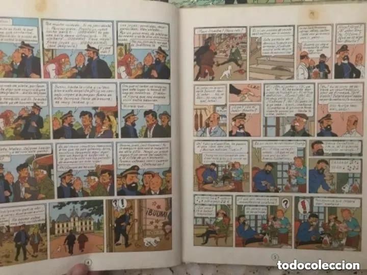 Cómics: LOTE ANTIGUOS CÓMIC TEBEO TINTÍN PRIMERAS SEGUNDAS EDICIONES JUVENTUD - Foto 16 - 182624545