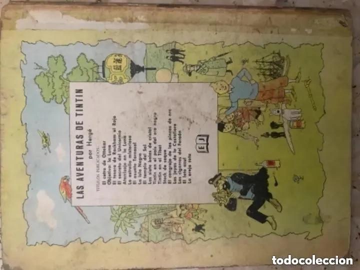 Cómics: LOTE ANTIGUOS CÓMIC TEBEO TINTÍN PRIMERAS SEGUNDAS EDICIONES JUVENTUD - Foto 24 - 182624545