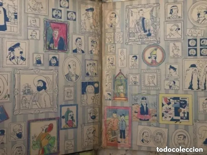Cómics: LOTE ANTIGUOS CÓMIC TEBEO TINTÍN PRIMERAS SEGUNDAS EDICIONES JUVENTUD - Foto 26 - 182624545