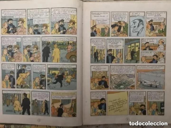 Cómics: LOTE ANTIGUOS CÓMIC TEBEO TINTÍN PRIMERAS SEGUNDAS EDICIONES JUVENTUD - Foto 29 - 182624545