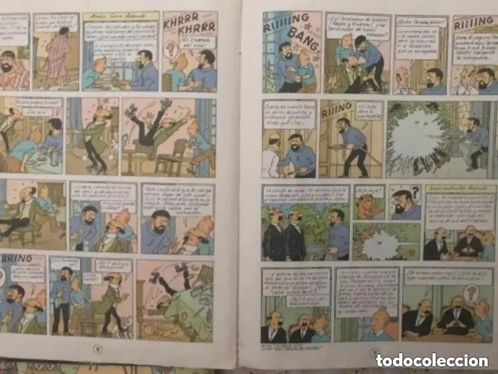 Cómics: LOTE ANTIGUOS CÓMIC TEBEO TINTÍN PRIMERAS SEGUNDAS EDICIONES JUVENTUD - Foto 31 - 182624545