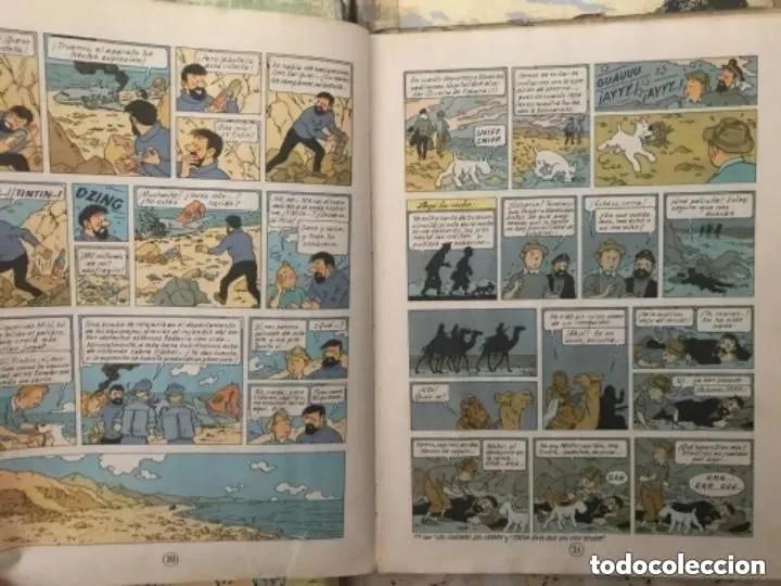 Cómics: LOTE ANTIGUOS CÓMIC TEBEO TINTÍN PRIMERAS SEGUNDAS EDICIONES JUVENTUD - Foto 34 - 182624545