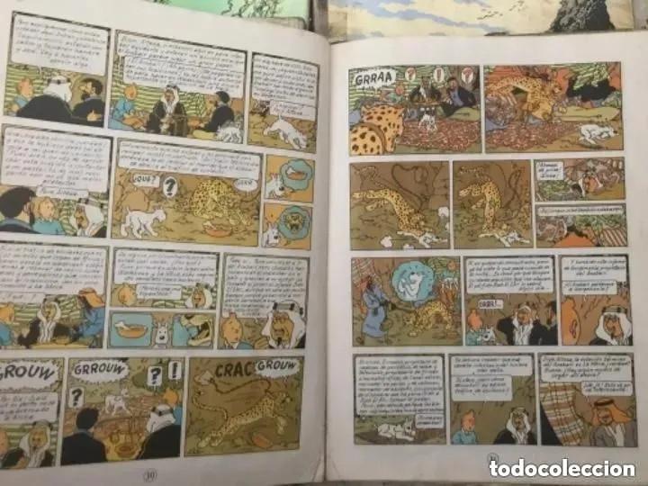 Cómics: LOTE ANTIGUOS CÓMIC TEBEO TINTÍN PRIMERAS SEGUNDAS EDICIONES JUVENTUD - Foto 35 - 182624545