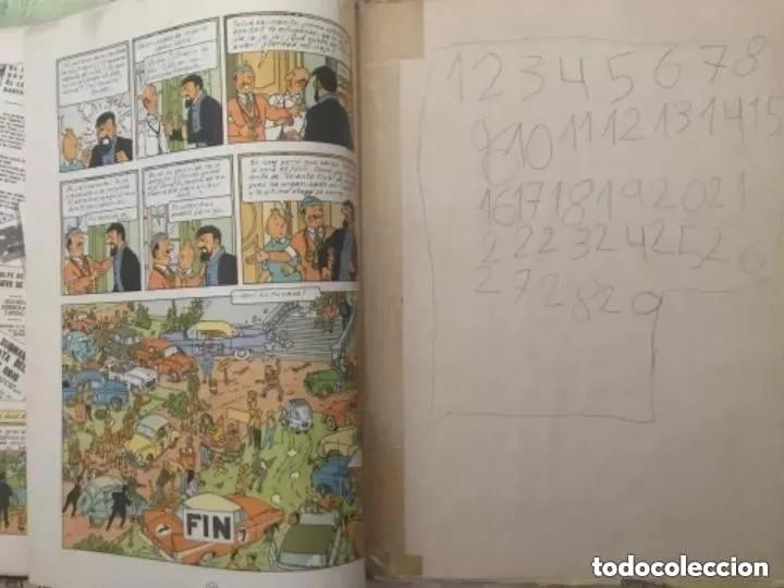 Cómics: LOTE ANTIGUOS CÓMIC TEBEO TINTÍN PRIMERAS SEGUNDAS EDICIONES JUVENTUD - Foto 37 - 182624545