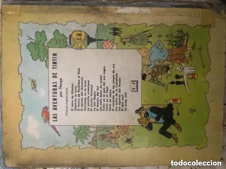 Cómics: LOTE ANTIGUOS CÓMIC TEBEO TINTÍN PRIMERAS SEGUNDAS EDICIONES JUVENTUD - Foto 39 - 182624545