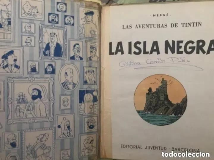 Cómics: LOTE ANTIGUOS CÓMIC TEBEO TINTÍN PRIMERAS SEGUNDAS EDICIONES JUVENTUD - Foto 41 - 182624545
