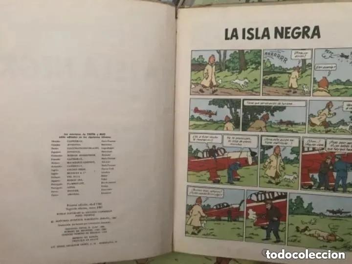 Cómics: LOTE ANTIGUOS CÓMIC TEBEO TINTÍN PRIMERAS SEGUNDAS EDICIONES JUVENTUD - Foto 42 - 182624545