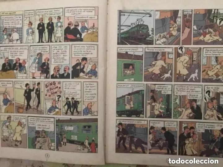 Cómics: LOTE ANTIGUOS CÓMIC TEBEO TINTÍN PRIMERAS SEGUNDAS EDICIONES JUVENTUD - Foto 43 - 182624545