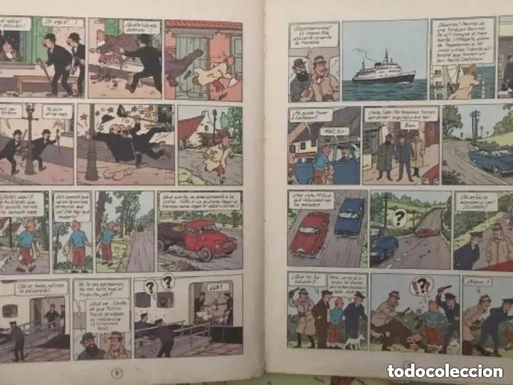 Cómics: LOTE ANTIGUOS CÓMIC TEBEO TINTÍN PRIMERAS SEGUNDAS EDICIONES JUVENTUD - Foto 44 - 182624545