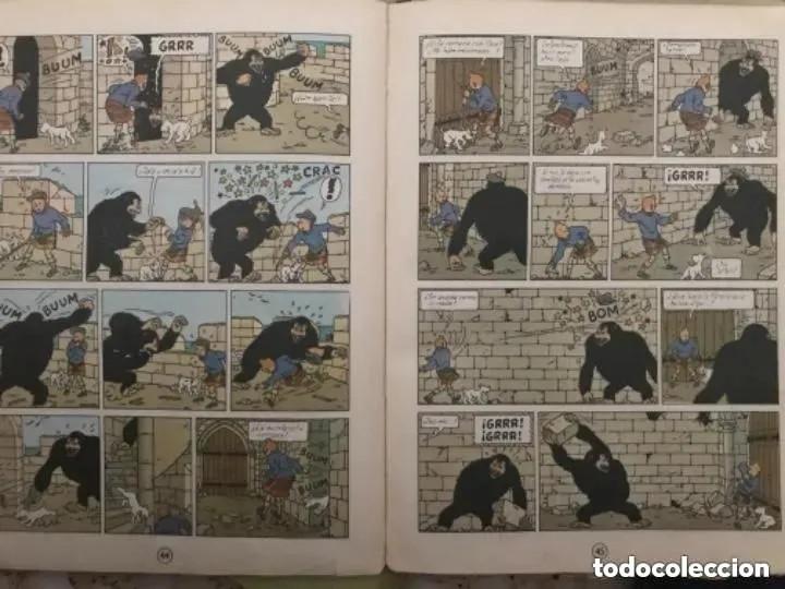 Cómics: LOTE ANTIGUOS CÓMIC TEBEO TINTÍN PRIMERAS SEGUNDAS EDICIONES JUVENTUD - Foto 46 - 182624545
