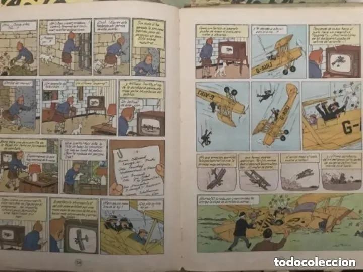 Cómics: LOTE ANTIGUOS CÓMIC TEBEO TINTÍN PRIMERAS SEGUNDAS EDICIONES JUVENTUD - Foto 47 - 182624545