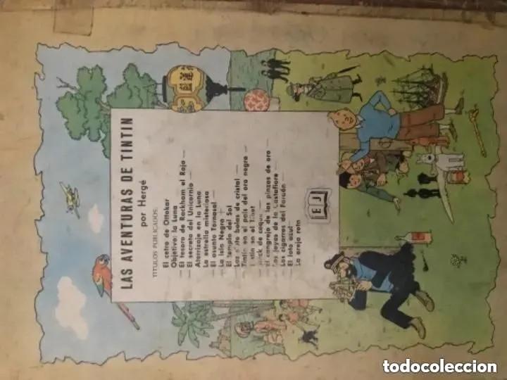 Cómics: LOTE ANTIGUOS CÓMIC TEBEO TINTÍN PRIMERAS SEGUNDAS EDICIONES JUVENTUD - Foto 50 - 182624545