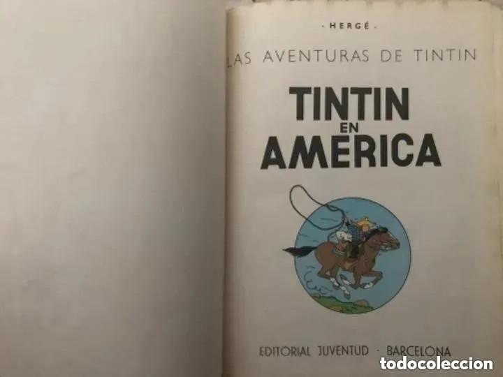 Cómics: LOTE ANTIGUOS CÓMIC TEBEO TINTÍN PRIMERAS SEGUNDAS EDICIONES JUVENTUD - Foto 53 - 182624545