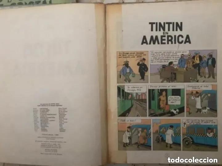 Cómics: LOTE ANTIGUOS CÓMIC TEBEO TINTÍN PRIMERAS SEGUNDAS EDICIONES JUVENTUD - Foto 54 - 182624545