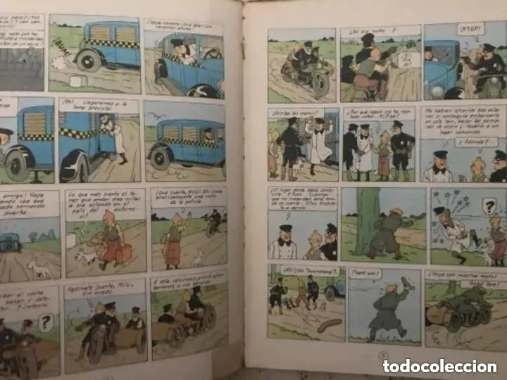 Cómics: LOTE ANTIGUOS CÓMIC TEBEO TINTÍN PRIMERAS SEGUNDAS EDICIONES JUVENTUD - Foto 55 - 182624545