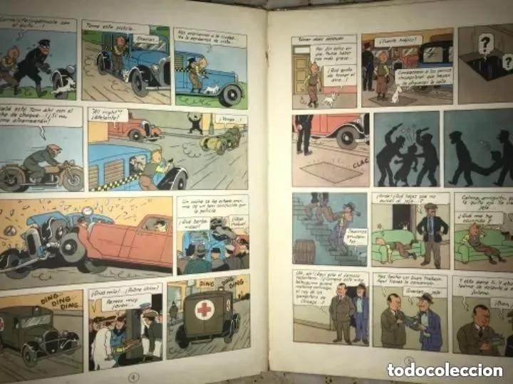Cómics: LOTE ANTIGUOS CÓMIC TEBEO TINTÍN PRIMERAS SEGUNDAS EDICIONES JUVENTUD - Foto 56 - 182624545
