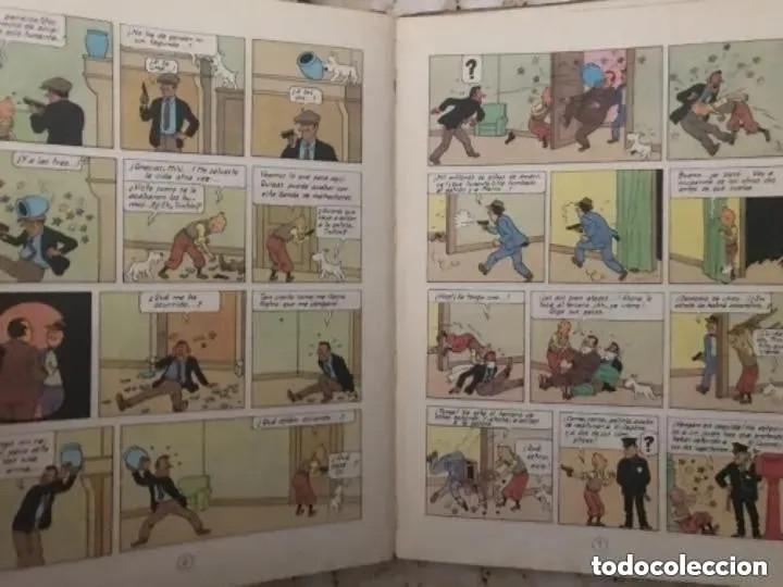 Cómics: LOTE ANTIGUOS CÓMIC TEBEO TINTÍN PRIMERAS SEGUNDAS EDICIONES JUVENTUD - Foto 57 - 182624545