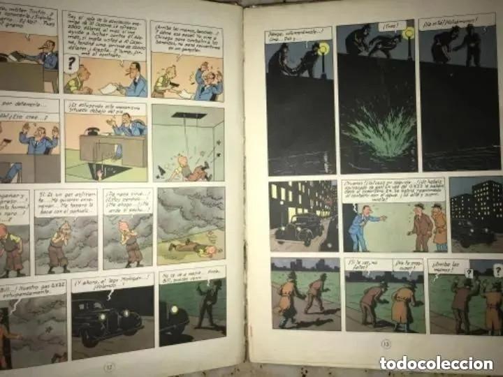Cómics: LOTE ANTIGUOS CÓMIC TEBEO TINTÍN PRIMERAS SEGUNDAS EDICIONES JUVENTUD - Foto 59 - 182624545