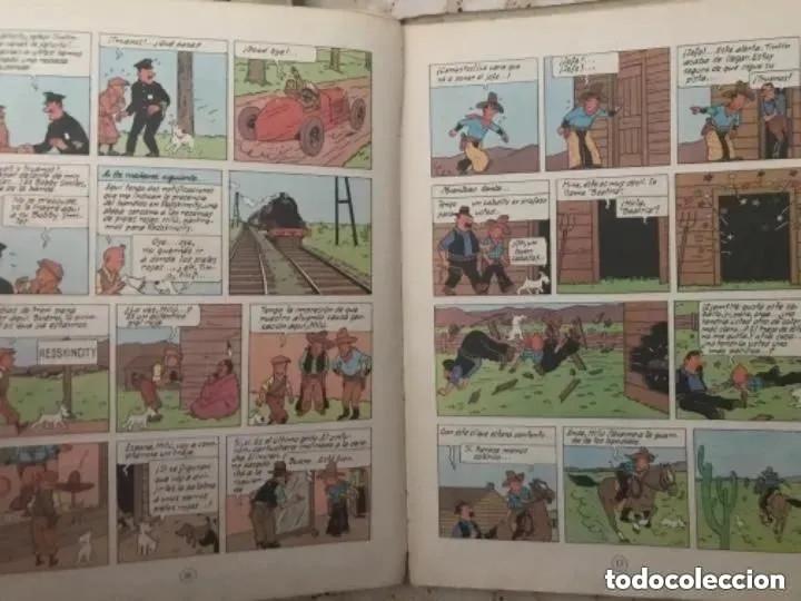 Cómics: LOTE ANTIGUOS CÓMIC TEBEO TINTÍN PRIMERAS SEGUNDAS EDICIONES JUVENTUD - Foto 61 - 182624545