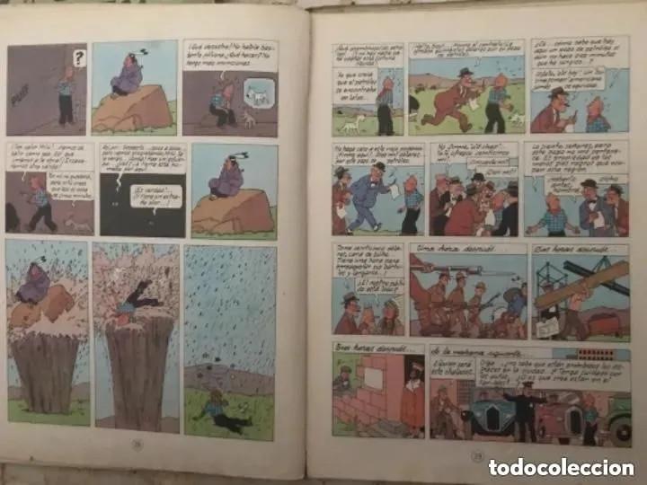 Cómics: LOTE ANTIGUOS CÓMIC TEBEO TINTÍN PRIMERAS SEGUNDAS EDICIONES JUVENTUD - Foto 64 - 182624545