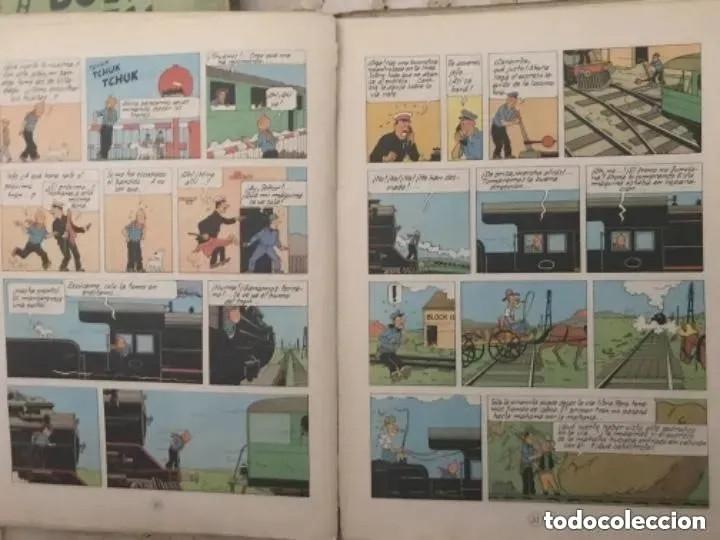 Cómics: LOTE ANTIGUOS CÓMIC TEBEO TINTÍN PRIMERAS SEGUNDAS EDICIONES JUVENTUD - Foto 65 - 182624545