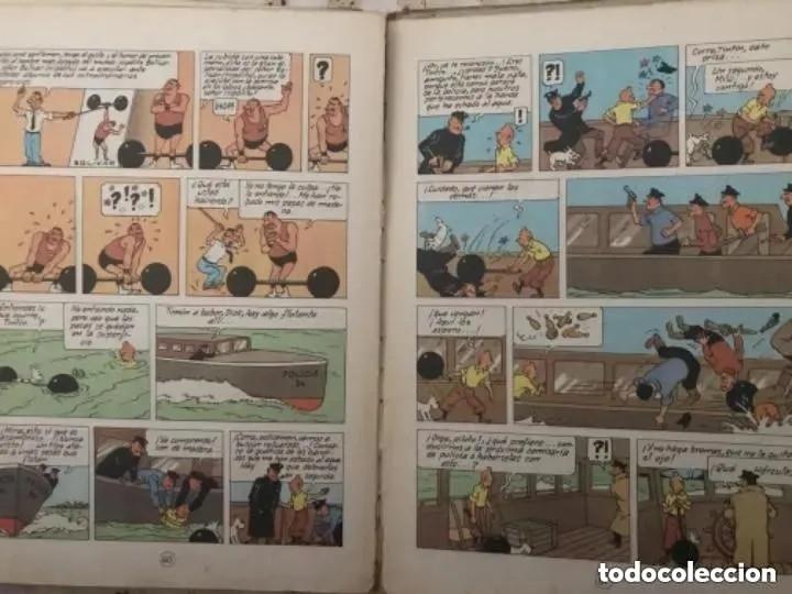 Cómics: LOTE ANTIGUOS CÓMIC TEBEO TINTÍN PRIMERAS SEGUNDAS EDICIONES JUVENTUD - Foto 67 - 182624545