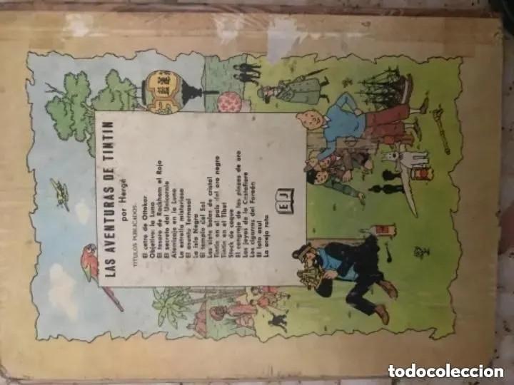 Cómics: LOTE ANTIGUOS CÓMIC TEBEO TINTÍN PRIMERAS SEGUNDAS EDICIONES JUVENTUD - Foto 69 - 182624545