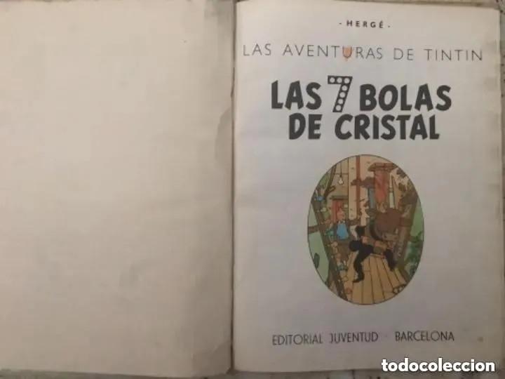 Cómics: LOTE ANTIGUOS CÓMIC TEBEO TINTÍN PRIMERAS SEGUNDAS EDICIONES JUVENTUD - Foto 72 - 182624545