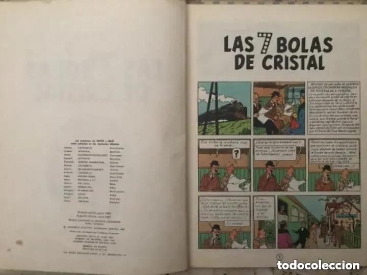 Cómics: LOTE ANTIGUOS CÓMIC TEBEO TINTÍN PRIMERAS SEGUNDAS EDICIONES JUVENTUD - Foto 73 - 182624545