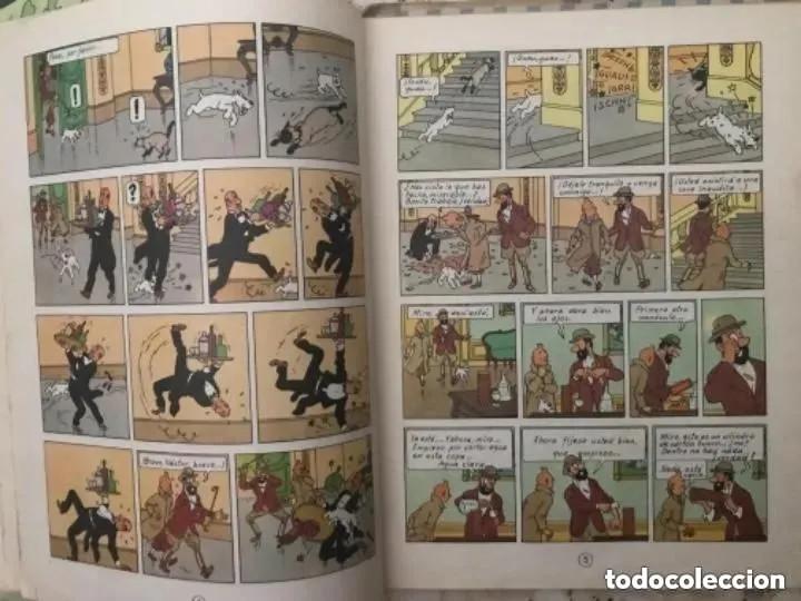 Cómics: LOTE ANTIGUOS CÓMIC TEBEO TINTÍN PRIMERAS SEGUNDAS EDICIONES JUVENTUD - Foto 75 - 182624545