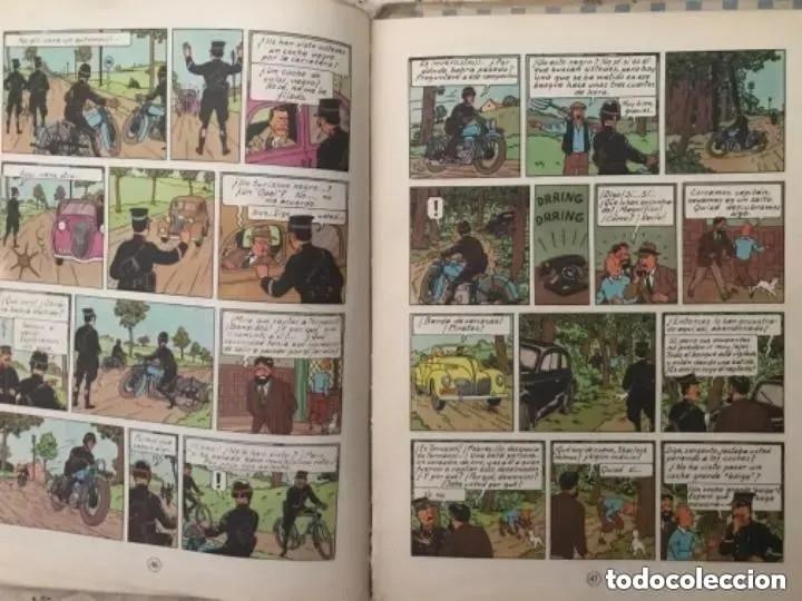 Cómics: LOTE ANTIGUOS CÓMIC TEBEO TINTÍN PRIMERAS SEGUNDAS EDICIONES JUVENTUD - Foto 79 - 182624545