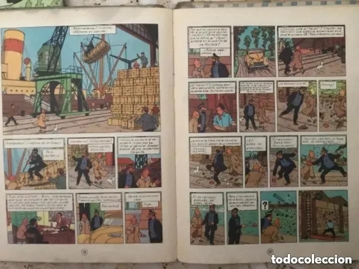 Cómics: LOTE ANTIGUOS CÓMIC TEBEO TINTÍN PRIMERAS SEGUNDAS EDICIONES JUVENTUD - Foto 80 - 182624545