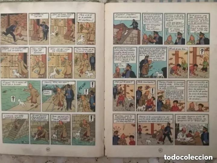 Cómics: LOTE ANTIGUOS CÓMIC TEBEO TINTÍN PRIMERAS SEGUNDAS EDICIONES JUVENTUD - Foto 81 - 182624545