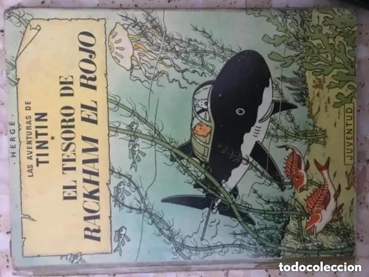 Cómics: LOTE ANTIGUOS CÓMIC TEBEO TINTÍN PRIMERAS SEGUNDAS EDICIONES JUVENTUD - Foto 84 - 182624545