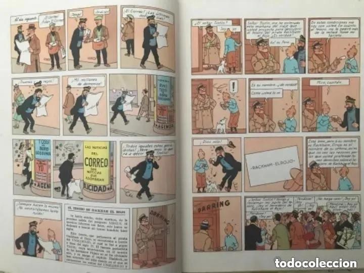 Cómics: LOTE ANTIGUOS CÓMIC TEBEO TINTÍN PRIMERAS SEGUNDAS EDICIONES JUVENTUD - Foto 88 - 182624545
