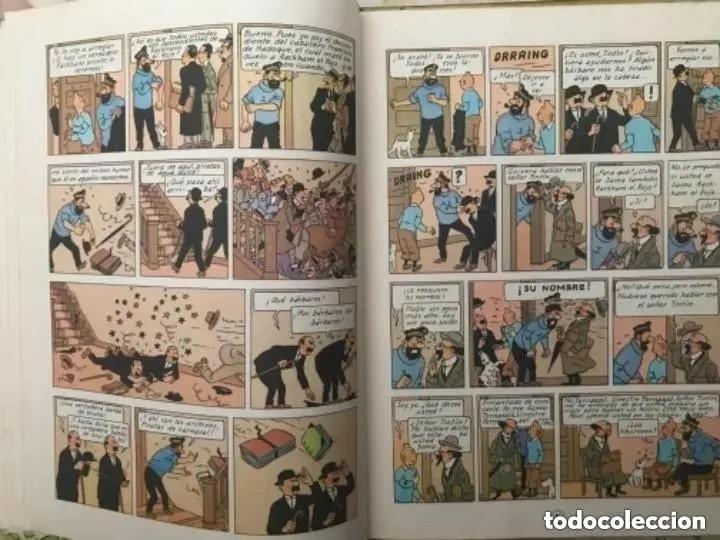 Cómics: LOTE ANTIGUOS CÓMIC TEBEO TINTÍN PRIMERAS SEGUNDAS EDICIONES JUVENTUD - Foto 89 - 182624545