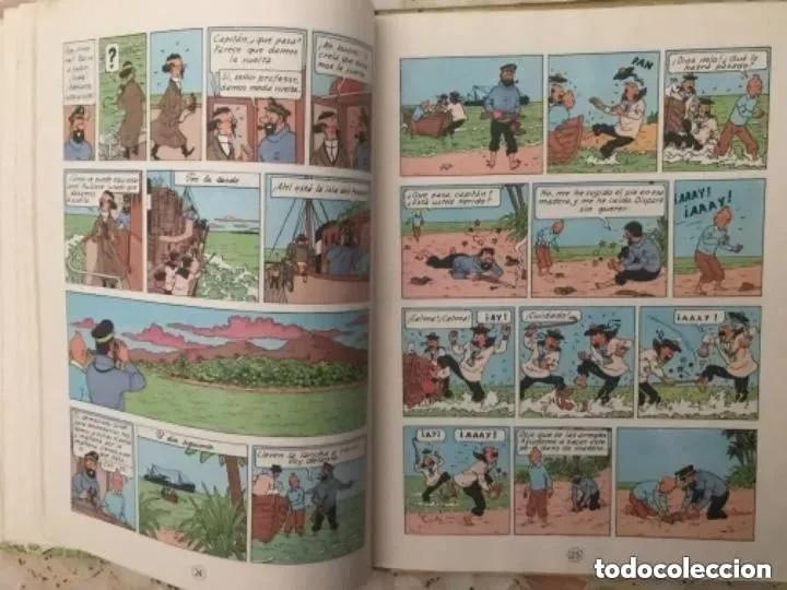 Cómics: LOTE ANTIGUOS CÓMIC TEBEO TINTÍN PRIMERAS SEGUNDAS EDICIONES JUVENTUD - Foto 90 - 182624545