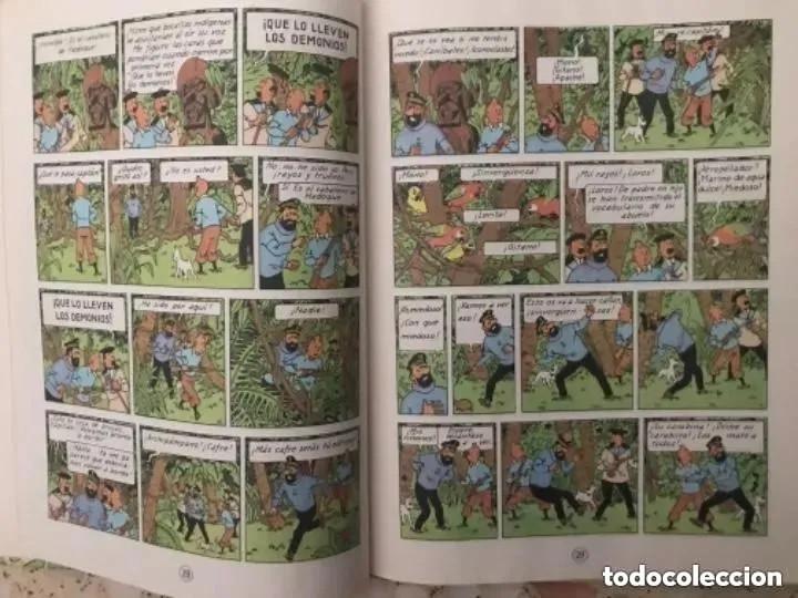 Cómics: LOTE ANTIGUOS CÓMIC TEBEO TINTÍN PRIMERAS SEGUNDAS EDICIONES JUVENTUD - Foto 91 - 182624545