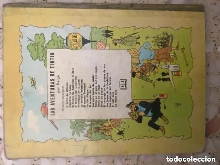 Cómics: LOTE ANTIGUOS CÓMIC TEBEO TINTÍN PRIMERAS SEGUNDAS EDICIONES JUVENTUD - Foto 95 - 182624545