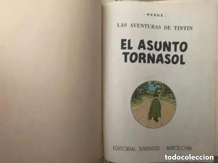 Cómics: LOTE ANTIGUOS CÓMIC TEBEO TINTÍN PRIMERAS SEGUNDAS EDICIONES JUVENTUD - Foto 98 - 182624545