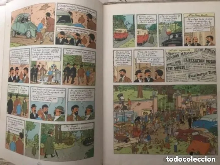 Cómics: LOTE ANTIGUOS CÓMIC TEBEO TINTÍN PRIMERAS SEGUNDAS EDICIONES JUVENTUD - Foto 101 - 182624545