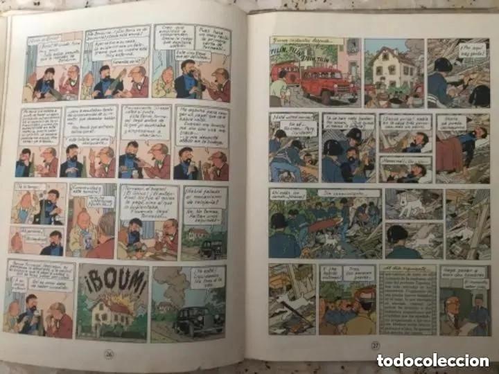 Cómics: LOTE ANTIGUOS CÓMIC TEBEO TINTÍN PRIMERAS SEGUNDAS EDICIONES JUVENTUD - Foto 103 - 182624545