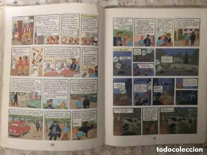 Cómics: LOTE ANTIGUOS CÓMIC TEBEO TINTÍN PRIMERAS SEGUNDAS EDICIONES JUVENTUD - Foto 104 - 182624545