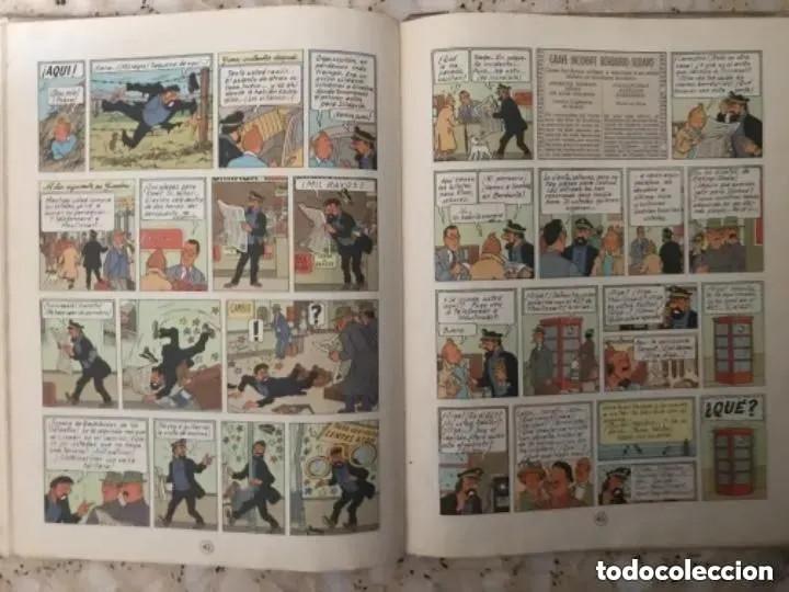 Cómics: LOTE ANTIGUOS CÓMIC TEBEO TINTÍN PRIMERAS SEGUNDAS EDICIONES JUVENTUD - Foto 106 - 182624545